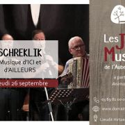 Soirée musicale au Domaine du HIRTZ avec le groupe SCHREKLIK