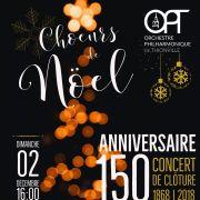 Choeurs de Noël avec l\'Orchestre Philharmonique de Thionville