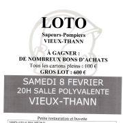 Loto des Sapeurs-Pompiers de Vieux-Thann