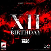 XII • Birthday w/ Gregor Salto