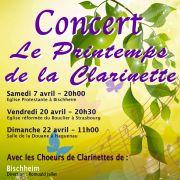 Le printemps de la clarinette