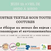 Table ronde : L\'industrie textile sous toutes ses coutures