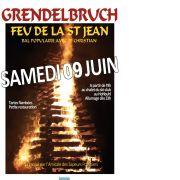 Feu de la St Jean à Grendelbruch 2018
