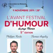 L\'avant 5 : festival d\'humour du Pays-Rhénan