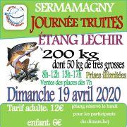 Journée truites à l\'Étang Lechir
