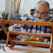 Histoire de la peinture sous verre