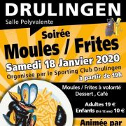Soirée Moules/Frites du Sporting Club de Drulingen