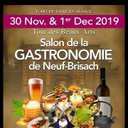 Salon de la gastronomie de Neuf-Brisach 2019