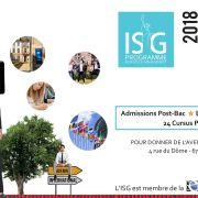 Journée d\'Informartions à l\'ISG Strasbourg