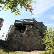 Maraudage au château de Ferrette