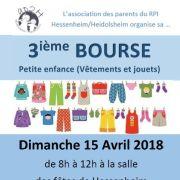 Bourse vêtements et puériculture à Hessenheim 2018