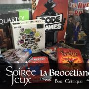 Soirée jeux : Les RandoJoueurs et La Brocéliande