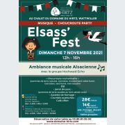 Elsass'Fest -  Choucroute party et ambiance musicale Alsacienne au Domaine du Hirtz