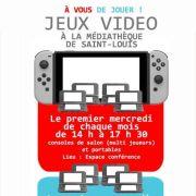 Ateliers jeux vidéo
