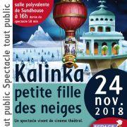 Kalinka petite fille des neiges