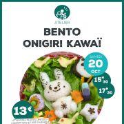 Atelier : Initiation au Bento Onigiri Kawaï