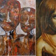 Walter Ciandrini et Philippe Higelin (peintures)