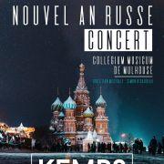 Collegium Musicum de Mulhouse : Nouvel An Russe