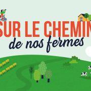 Sur le chemins de nos fermes (visite et animations autour de la ferme en Alsace )