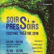 Soirs à Pressoirs - Festival de Théâtre