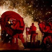 Le concert de feu