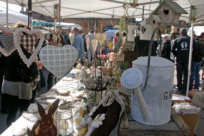 Le printemps s\'invite dans les stands d\'artisanat à Obernai