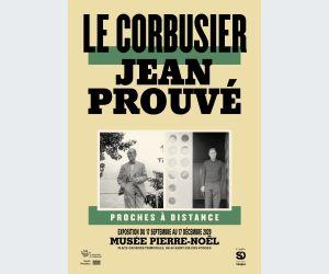 Le Corbusier, Jean Prouvé - Proches à distance