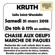 Marché de Pâques et Chasse aux oeufs à Kruth 2018