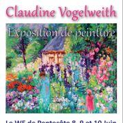 Claudine Vogelweith : artiste peintre