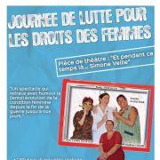 Journée de lutte pour les droits des femmes