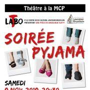 Soirée Pyjama - troupe de théâtre Labo-T