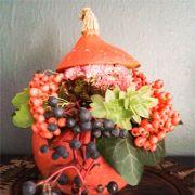 Atelier de potiron fleuri