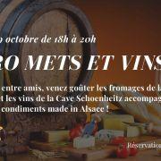 Apéro mets et vins à la Maison du Fromage