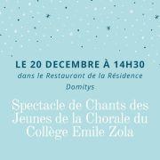 Chorale des jeunes du Collège Emile Zola