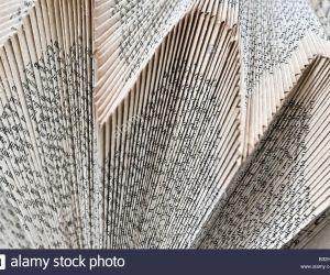Papiers pliés ou la deuxième vie des livres