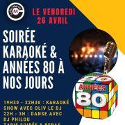 Karaoké & soirée années 80 à nos jours