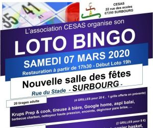 Loto bingo (Association CESAS)