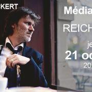 Vincent ECKERT à la Médiathèque de Reichstett