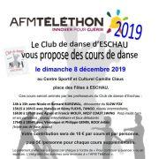 Club de Danse D\'Eschau - Cours de Danse pour le TELETHON