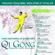 Stages Qi Gong Santé avec Pr. Peng Xiangji de Chine