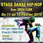 Stage de Danse Hip-Hop à partir de 7 ans