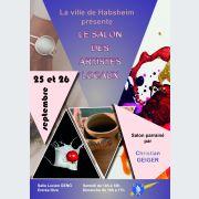 Salon des artistes locaux à Habsheim
