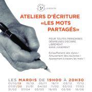 Atelier d\'écriture à Strasbourg