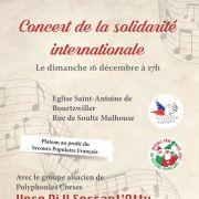 Concert de la Solidarité Internationale