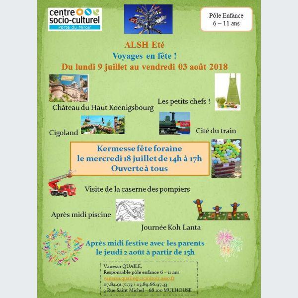 Accueil de loisirs porte du miroir mulhouse animation pour enfants csc porte du miroir - Centre socio culturel porte du miroir ...