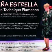 Cours de Techniques Flamencas