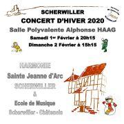 L\'Harmonie de Scherwiller - concert d\'hiver