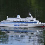 Démonstration de modèles réduits de bateaux