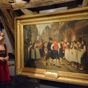 Visite-atelier « Vive le sapin peint ! »
