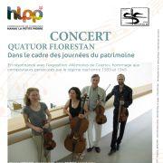 Quatuor Florestan - Saison Musicale de Hanau-La Petite Pierre